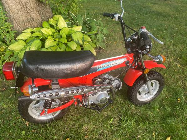 Photo 1981 Honda CT70 Mini Trail 70 with a Clean Title . RELIABLE - $2,000 (Coon Rapids)