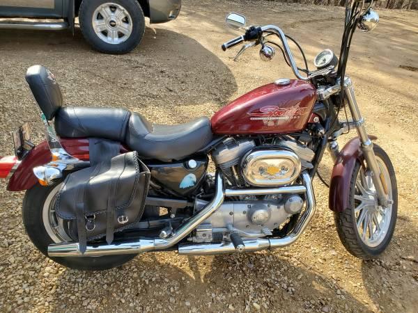 Photo 2000 Harley Sportster 883 Hugger - $2,400 (Hudson)