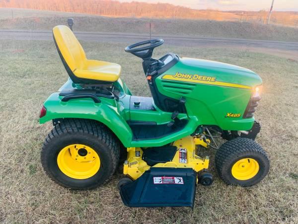 Photo 2004 John Deere X485 Lawn Mower - $4100 (Osceola)