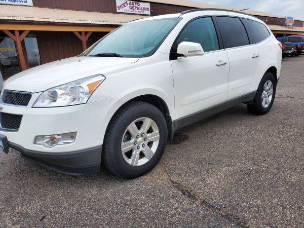 Photo 2012 CHEVY TRAVERSE LT LOADED BAD CREDIT FINANCING GUARANTEED (GUARANTEED FINANCING BAD CREDIT)