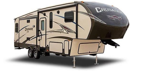 Photo 2017 Crusader lite 3039 5th wheel - $27,900 (Andover)