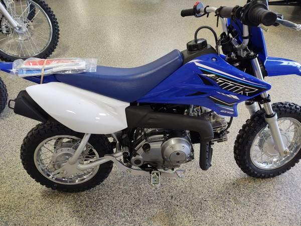 Photo 2021 Yamaha TTR 50 Dirt Bike - $1,699 (Lakeville)