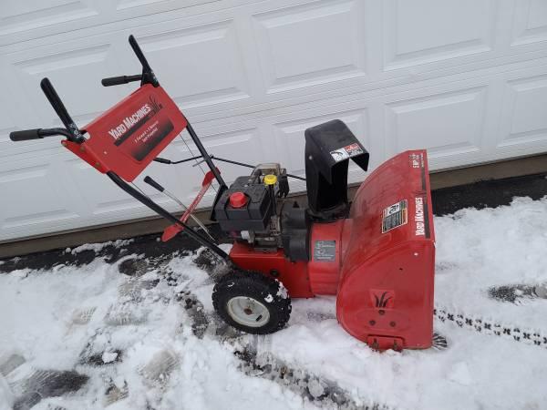 Photo 22quot Yard Machines by MTD Snowblower 5 HP (2-Stage) - $300 (Shakopee MN)