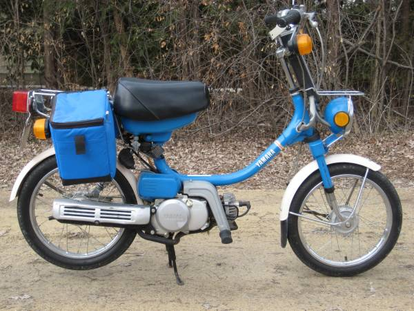 Photo 3986 Yamaha QT50 Moped With 939 Miles on it For Sale - $1100 (Lakeville)