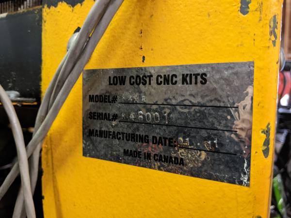Photo 439 x 839 CNC Plasma cutting table - $2,500 (LITTLE CANADA)