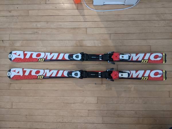 Photo Atomic Downhill Skis - 140 cm - $150 (Saint Paul)
