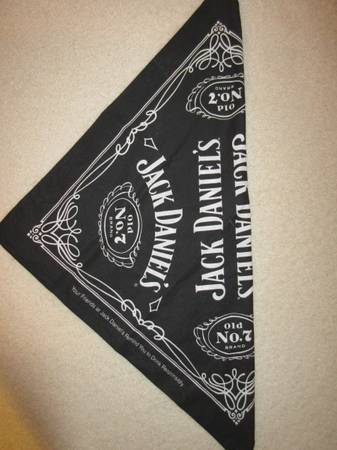 Photo BRAND NEW Jack Daniel39s Old No. 7 BANDANA (Wear as a Mask) - $10 (Minneapolis)