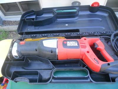 Photo Black and Decker Reciprocating Saw - $35 (Brooklyn Center)
