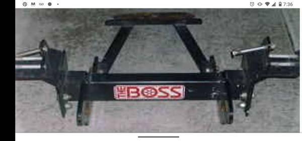 Photo Boss rt3 snow plow mount 01-05 Dodge - $325 (Albertville)