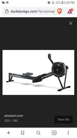 Photo Brand New Concept 2 Rower  Rowing Machine - $900 (Roseville)