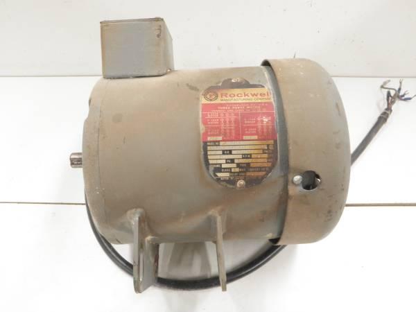 Photo Delta Unisaw 2 HP, 3450 RPM, 3 Phase Motor - $50 (PRIOR LAKE  LAKEVILLE)