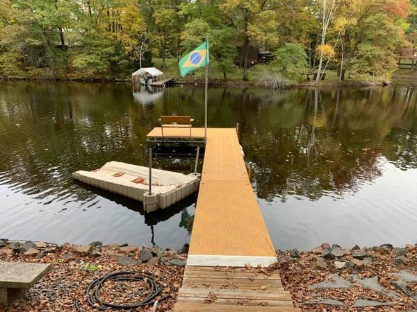 Photo Drive-on Jet Ski Dock - $2,100 (Hudson, WI)