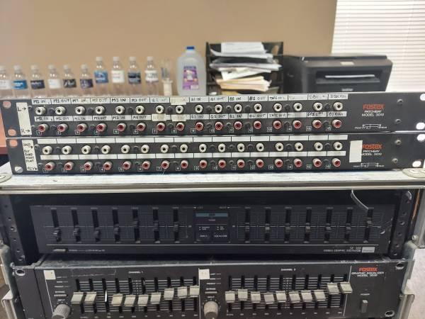 Photo Fostex Patchbay Model 3010 - 2 units - $30 (Burnsville)