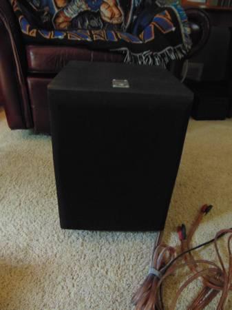 Photo JBL Home Theater Speaker, Bose Speakers, Insignia Three Way Speakers - $20 (Hutchinson)