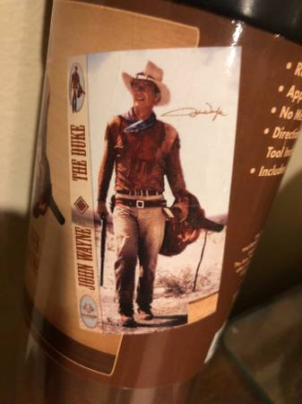 Photo John Wayne Western Image Life Size Removable Wall Sticker Decal - $59 (Lakeville)