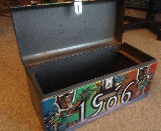 Photo Late 196039s era Sears Craftsman vintage tool box chest - $40 (spring park)
