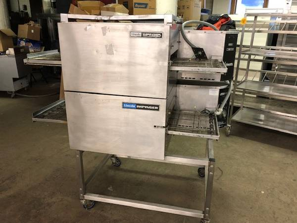 Photo Lincoln Impinger Double Deck Electric Pizza Oven - $6990 (Minneapolis)