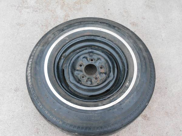 Photo NOS General Jet-Air ll 8.25 -14 Tire and Wheel - $100 (Forest Lake , MN)