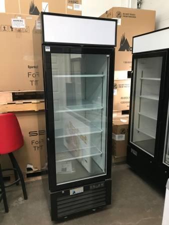 Photo NSF Glass Door Freezers  Refrigerators Merchandisers LED Lights - $1749 (Arden Hills)