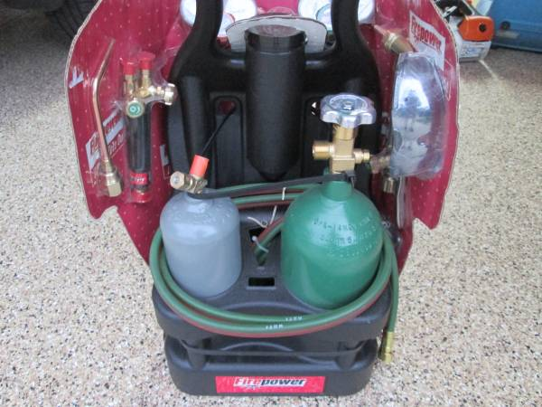 Photo New Victor Fire Power Portable Cutting Torch Set - $385 (Oronoco MN)