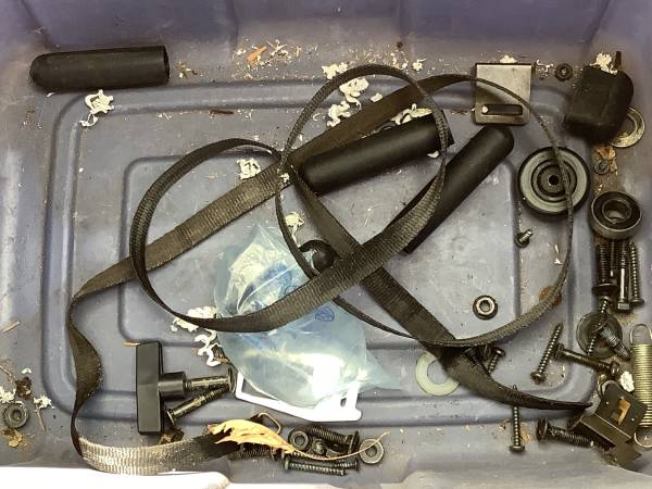 Photo Nordic Track skier parts. Will sell individually or as a group - $1 (Shakopee)
