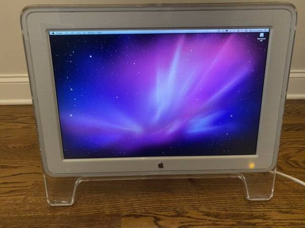 Photo Old APPLE 22 inch and 20 inch CINEMA DISPLAY - $50