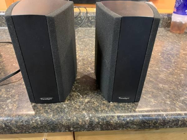 Photo Paradigm Cinema ADP v.3 surround speakers - $85 (Elk River)
