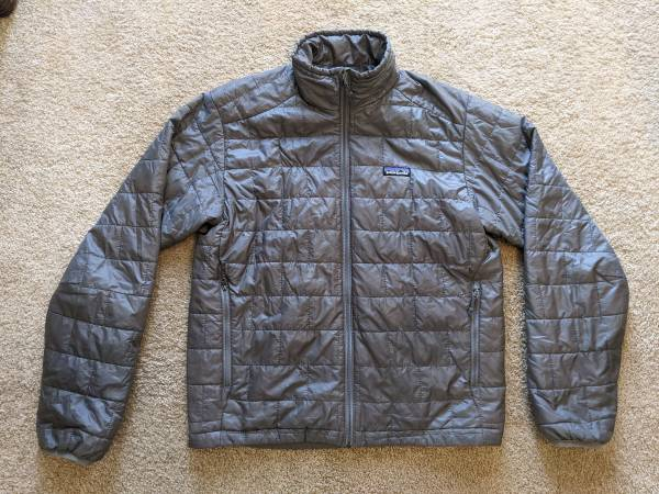 Photo Patagonian Jacket - Nano Puff Grey - Men39s Small - $100 (Saint Paul)