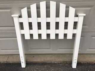 Photo Pottery Barn White Twin Bed frame - $159 (sw)