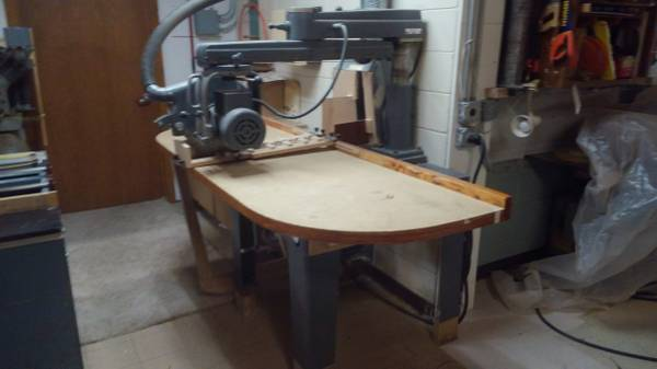 Photo Radial arm saw (wdato) Rockwell Delta - $1,500 (East of Hudson)