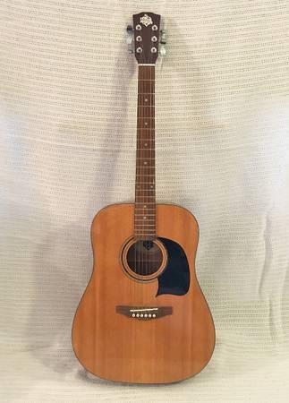 Photo Rare Limited Edition Washburn quotHouse of Bluesquot Acoustic Guitar - $200 (New Brighton)