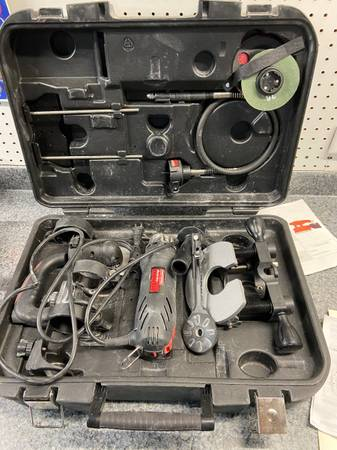 Photo Roto-zip Craftsman All-in-One Cutting tool kit - $35 (Plymouth)