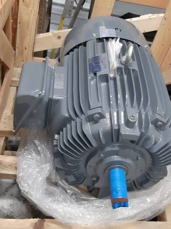 Photo TECO WESTINGHOUSE 40 HP 3 PHASE MOTORS BRAND NEW - $1,250 (WELCOME)