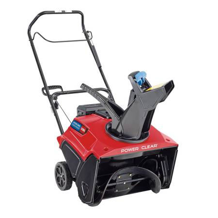 Photo Toro 21 in. 212 cc Single-Stage Electric Start Gas Snow Blower - $449 (Coon Rapids)