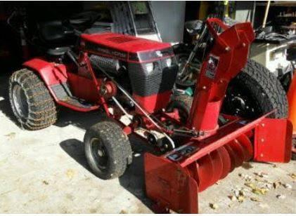 Photo Toro 520 Wheel Horse garden tractor - $1950 (South Mpls)