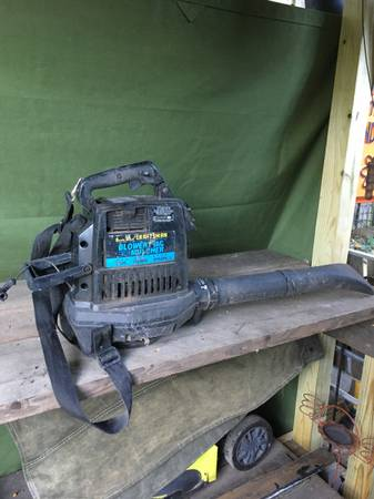 Vintage gas leaf blower mulcher for restore, parts reuse - $10 (Columbia Heights)