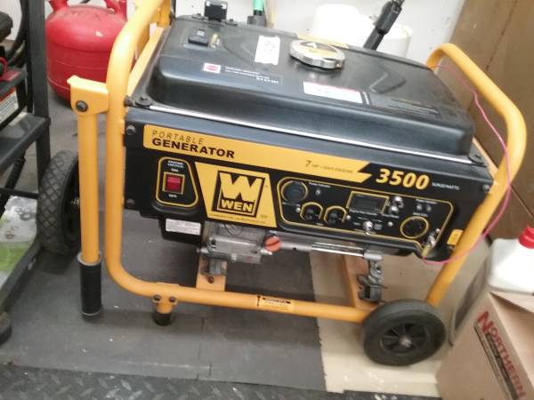 Photo WEN 3500 Generator - $425 (Crystal)