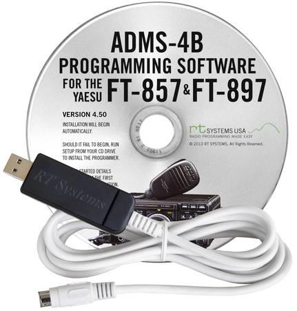 Photo Yaesu FT-857  FT-897 Ham Radio Programming Software - $35 (Brainerd Lakes Area)