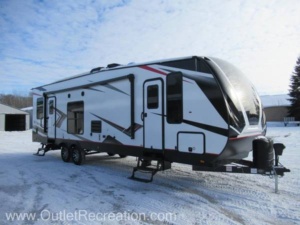 Photo quotOUTLET RECREATIONquot 2021 STRYKER ST-2916 TOY HAULER - $45,995 (CROSSLAKE, MN)
