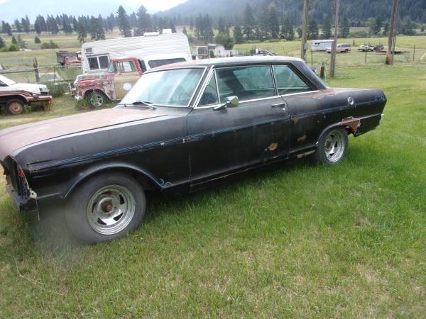 Photo 1965 Chevy II Nova - $13000 (Missoula)