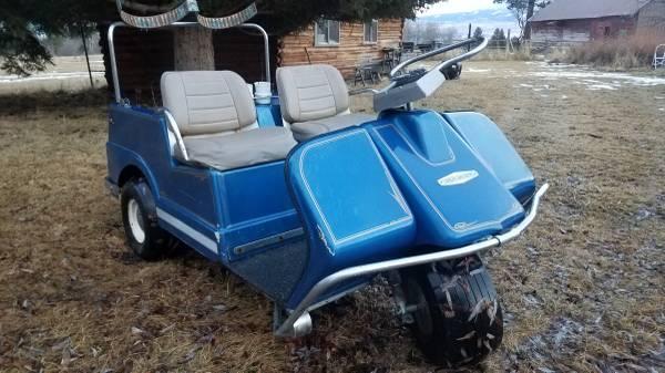 Photo 1967 Harley Davidson Electric Golf Cart Brand New Batteries - $1500 (Victor)