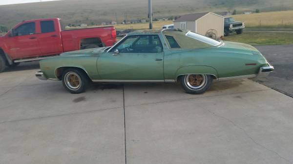 Photo 1974 Pontiac lemans profect car with title - $1400 (missoula)