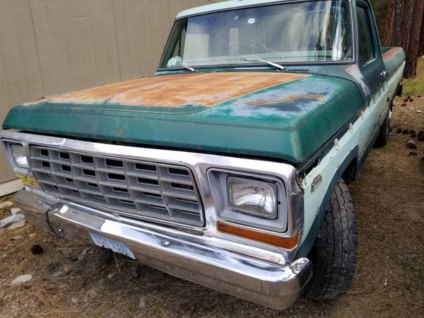 Photo 1978 Ford F250 parts truck - $1 (Frenchtown)