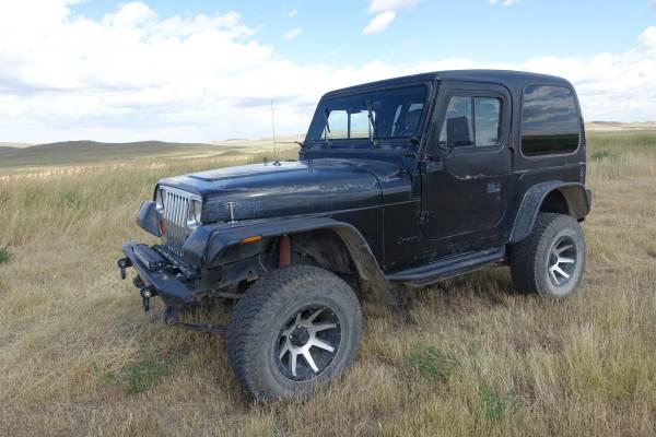 Photo 1994 Jeep Wrangler YJ, 6 cyl - $6000 (Augusta, Mt)