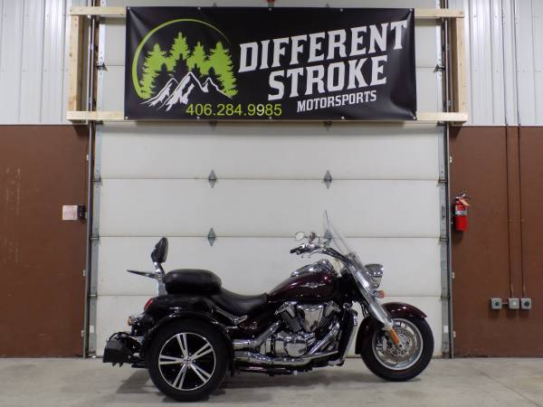 Photo 2008 Suzuki Boulevard C109 VLR 1800 w Voyager Trike Kit - $9,995 (Manhattan)