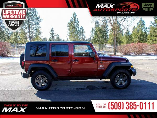 Photo 2009 Jeep Wrangler Unlimited X SUV for ONLY $284 mo - $17999 (Max Autosports of Spokane)