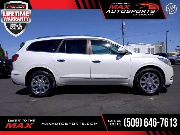 Photo 2016 Buick Enclave Premium AWD 3RD 3 RD 3-RD ROW LOADED - $27,980 (Max Autosports of Spokane)