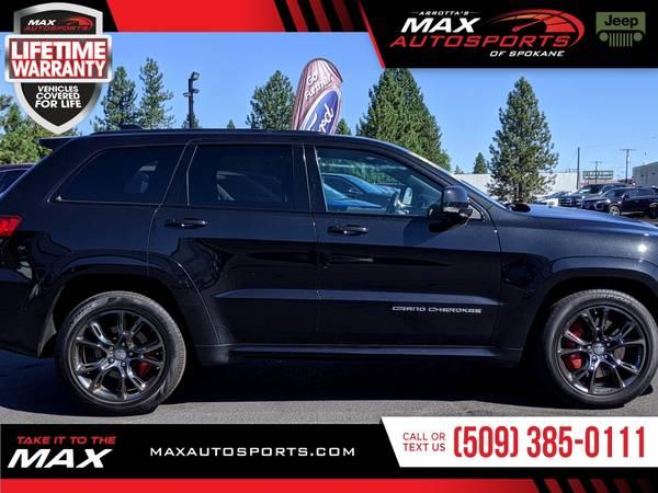 Photo 2016 Jeep Grand Cherokee SRT Night SUV for ONLY $608 mo - $44999 (Max Autosports of Spokane)