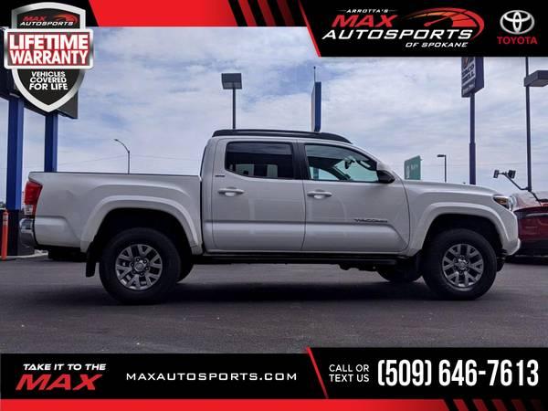 Photo 2017 Toyota Tacoma $567 mo LIFETIME WARRANTY - $42,999 (Max Autosports of Spokane)