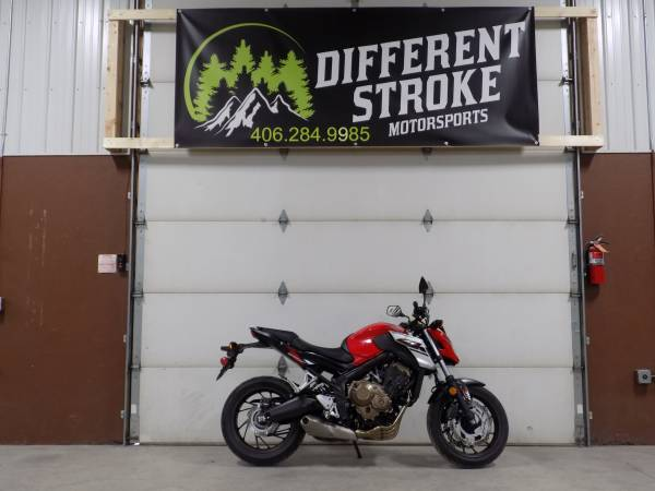 Photo 2018 Honda CB 650FA Sport Bike  ABS Brakes  Only 1,138 Miles  - $7,495 (Manhattan)
